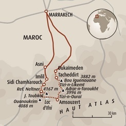 Circuit carte Maroc : Ascension du Toubkal