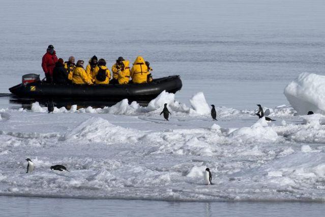 Voyage L'Antarctique avec le passage du Drake en avion