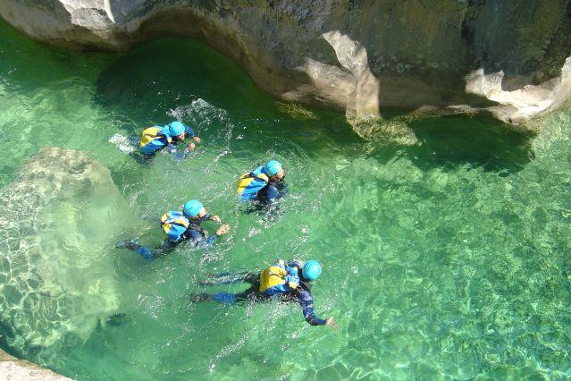 Voyage Canyoning en sierra de Guara
