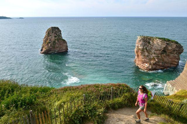 Rando bien-être sur la côte basque