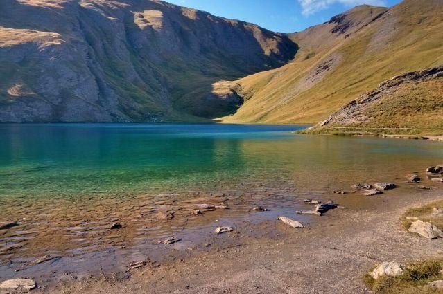 Lac du Malrif - Le tour du mont Viso - Alpes du Sud - France