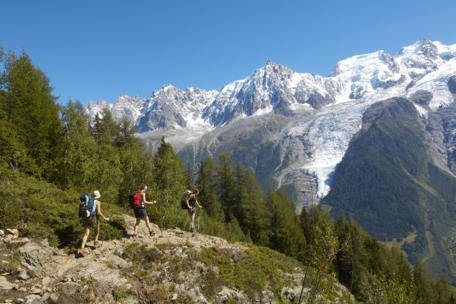 Le tour du Mont-Blanc (7 étapes)