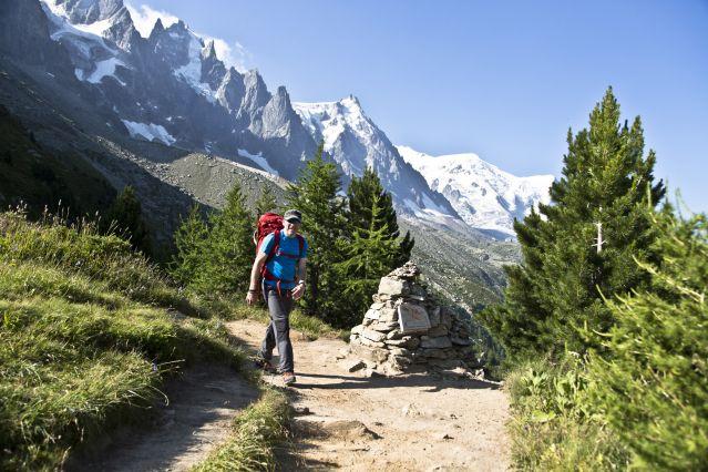 Voyage Le tour du Mont-Blanc sous tente