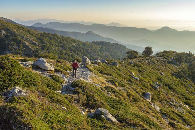 Étape entre Prati et Capannelle - GR 20 - Haute-Corse - France