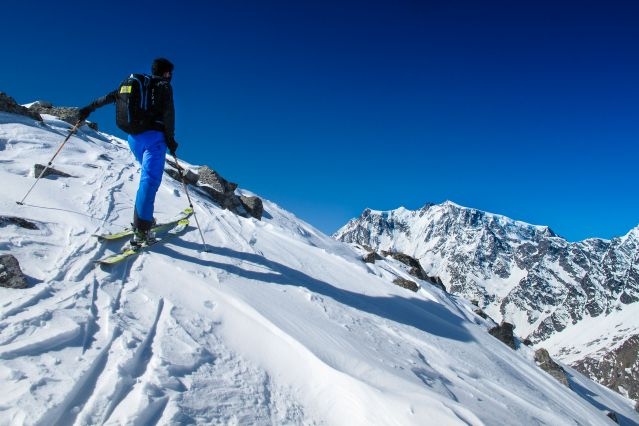 Voyage Mont Rose à ski (4563m)