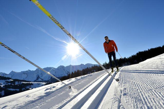 Voyage Ski de fond sensation dans les Aravis