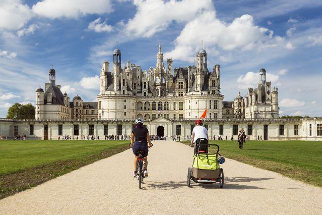 Voyage Vallée royale à vélo entre Blois et Tours