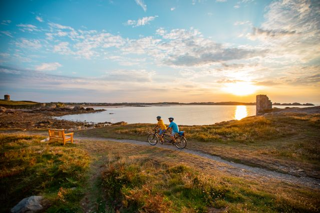 Voyage Jersey, Guernesey et Sark à vélo