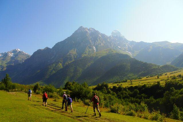 Voyage Trekking en Svanétie