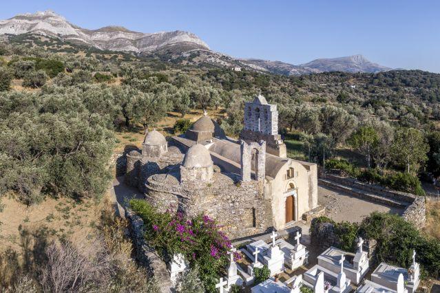 Naxos et Paros, vallées et sommet des Cyclades