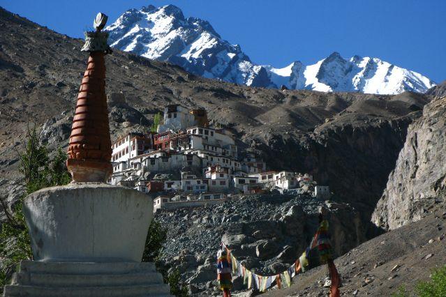 Villages et monastères du petit Tibet
