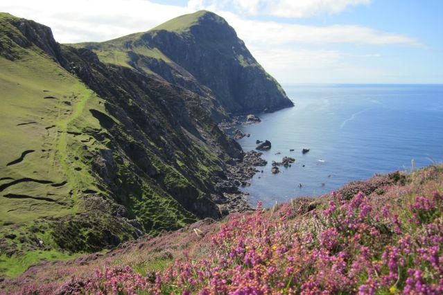 Falaise de Clare Island - Irlande