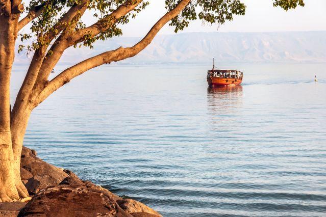 Voyage Galilée, lac de Tibériade et montagnes de Judée