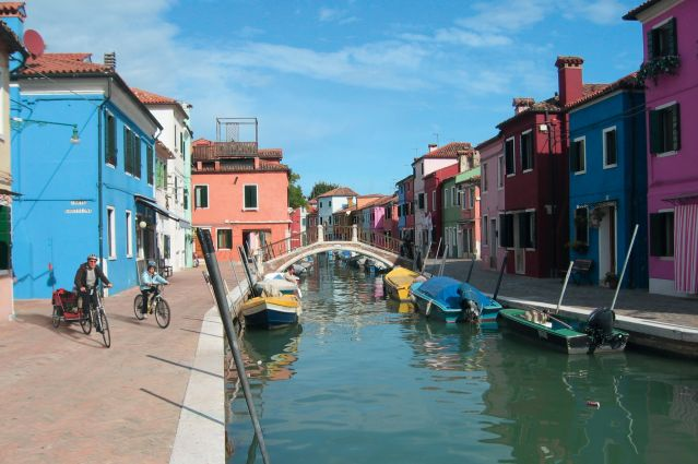 Voyage Découverte à vélo de la lagune de Venise