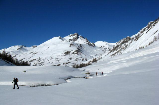 Voyage Découverte du Val Maira en raquettes