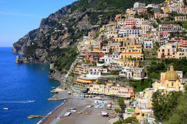 Voyage Vésuve, Capri et la côte amalfitaine