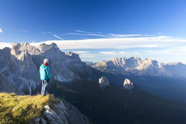 Montagnes de Catinaccio - Dolomites - Italie