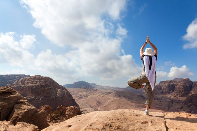 Yoga et randonnée en Jordanie