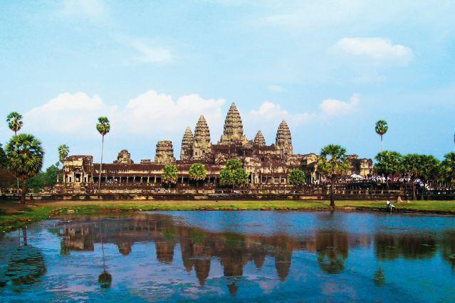 Au coeur du pays Khmer