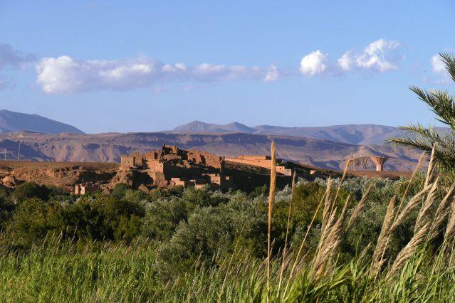 Bouthagar - Près de la vallée M Goun - Versant sud-est du Haut Atlas - Maroc