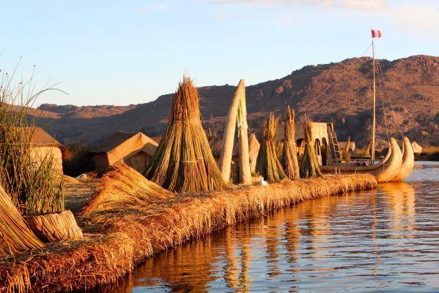 Îles Uros - Lac Titicaca - Puno - Pérou