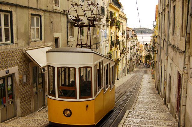 Tramway de Lisbonne - Portugal