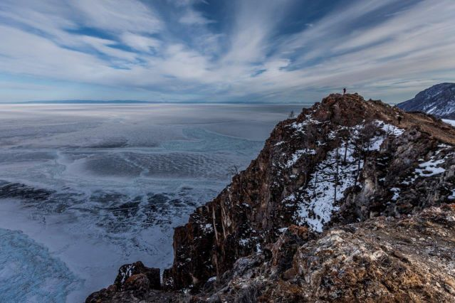 Nouvelle année au lac Baïkal
