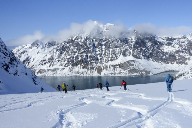 Voyage Ski de randonnée et cabotage au Spitzberg