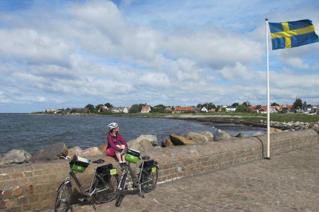 Voyage De Stockholm à Copenhague à vélo par la côte ouest