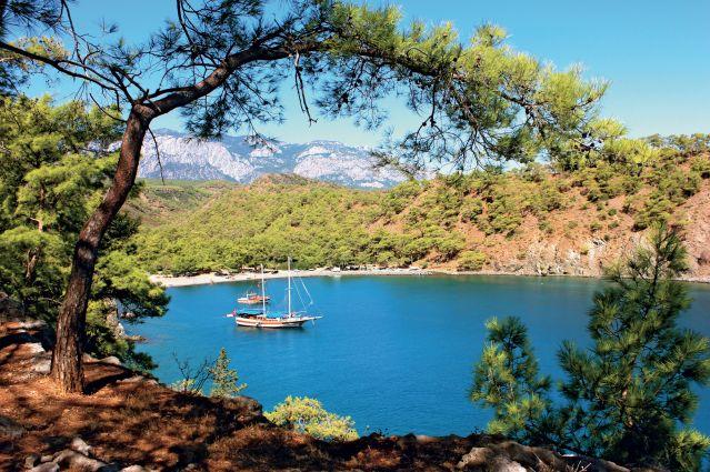 Voyage Cabotage et découverte des trésors de Lycie