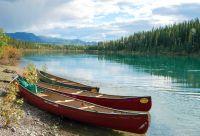 De Whitehorse à Dawson sur le Yukon
