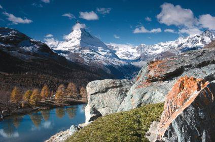 Sur le chemin de Chamonix - Zermatt