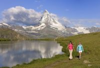 Sur le chemin de Chamonix à Zermatt