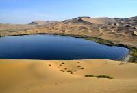 Badain Jaran, désert et lacs mystérieux