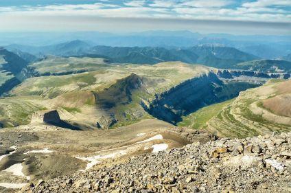 Cirques et canyons du mont Perdu