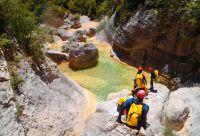 Découverte active en Sierra de Guara