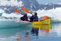 Raid en kayak au royaume des glaces