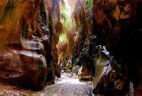 Canyon de jardins suspendus et désert étoilé
