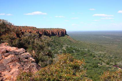 Montagnes et désert de Namibie