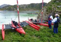 D'île en île en kayak à voile