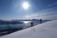 Ski de rando et voile en Laponie norvégienne